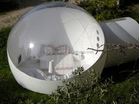 2015 hot sale outdoor inflatable bubble room, inflatable bubble dome
