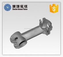Inversión fundición de titanio vástago para la bici de piezas de repuesto