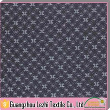High Quality Thick Heavy Silver Thread Nylon Lace Fabric For Curtains