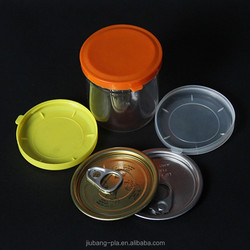Brand manufacturer hot selling and making small plastic buckets with lids/plastic christmas bucket/PET tin/can