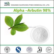 Cosmetic Grade skin lightening cream bleaching skin Alpha Arbutin 98%