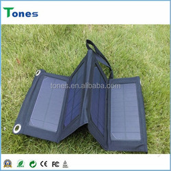 Solar Charger Bag Portable Folding Solar Charger Outdoor Use Power Bank for Smart Phones