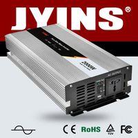 JYP-2000W intelligent dc/ac power inverter 50hz LED display