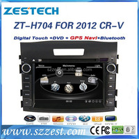 ZESTECH car dvd player for Honda CRV 2012 with High performance dual-core