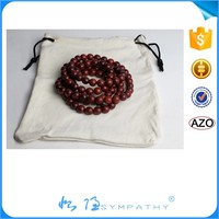 Custom jewelry bag with logo small round drawstring velvet pouch bag