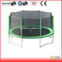 Factory made direct sale walmart 16 ft trampoline with enclosure