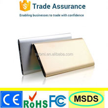 mobile phone power bank 5000-BP04 with logo printing nice in stock