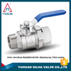 ball valve dn50 cw617n and blasting motorize NPT threaded connection PPR high quality manual power with lockable inTMOK