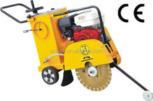 CE Concrete road saw cutter machine with water tank QF400 honda robin lifan Concrete Cutter