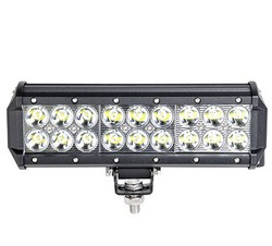 "Super brightness 54w double row 10"" led light bar, car led light bar 12v 54w JT-2100-54W"