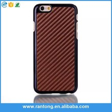 New arrival novel design for iphone 6 carbon fiber cell phone case fast shipping