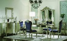 Italiano mobília de jantar antigo/móveis sala de jantar conjuntos/restaurante mesa de jantar e cadeira gd-a8050