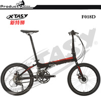 XTASY 20 Inch Lightweight Mini Folding Bike,Bicycle Folding