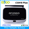 latest product of china C918 plus satellite receiver with Android 4.4 KitKat