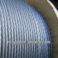 cable steel,ungalvanized steel wire rope DIN 3066 6*37+FC