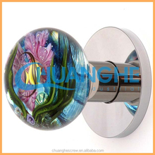 aluminum decorative cabinet door knob