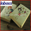 de la muchacha bonita cuadernos de leche y productos lácteos cuaderno de dibujo y de alta calidad y papel suave cubierta