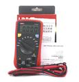 Uni-t ac dc ohm voltímetro ohmiómetro voltímetro y amperímetro uni-t ut136a eléctrica multímetro digital