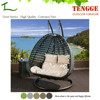 TG15-0140 Outdoor synthetic rattan 2 seat hanging chair