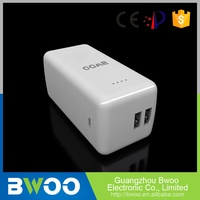 Highest Level High Efficiency Dual Usb Port Power Bank Twin Socket Mobile Phone