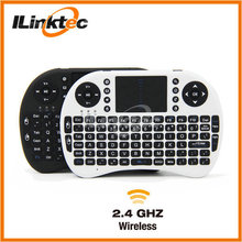 Handed design wireless keyboard i8 with mouse touch pad for samsung tv touchpad keyboard