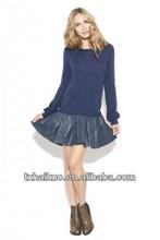 2013 nouvelles filles jupe robe de mode pour dames en cuir