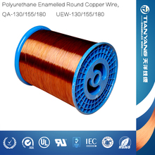 UEW 130 Centigrade Enamelled Copper Coil Winding Wire in China