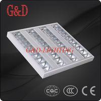 4x14W Grid Fluorescent Ceiling Light Fixture