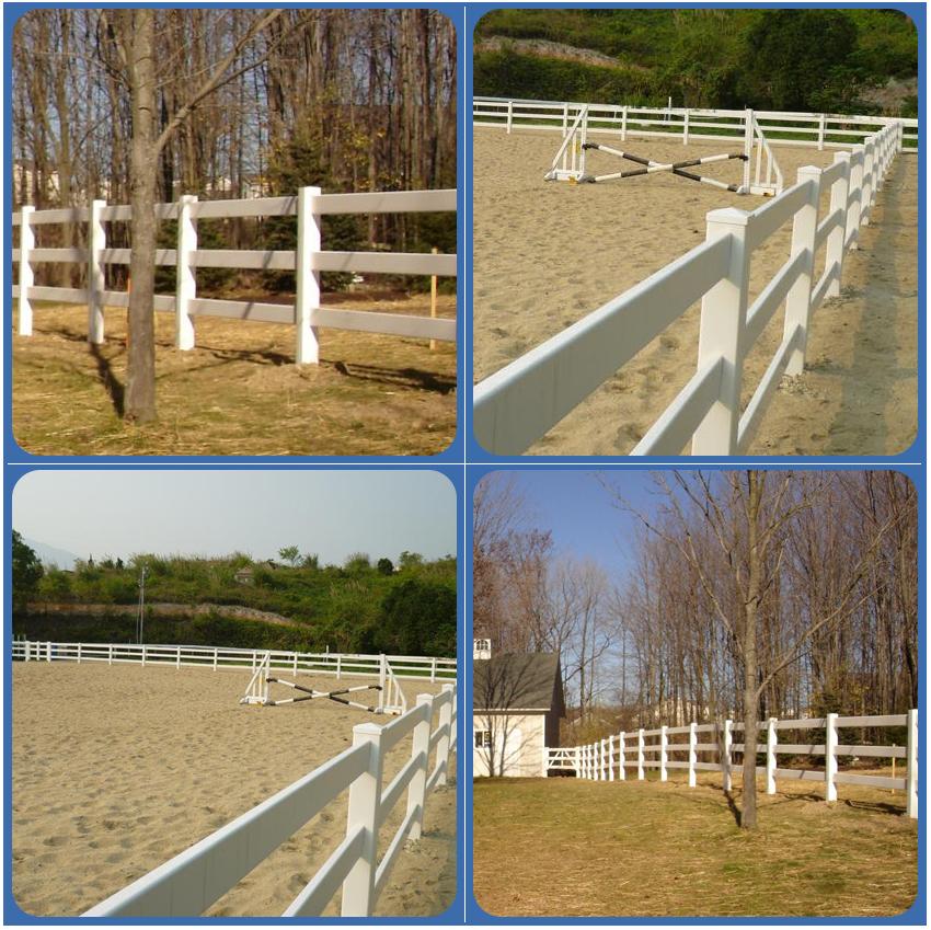 China pvc farm horse fence buy