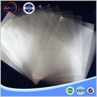 High quality 100 micron transparent double side laser PET film for plate making