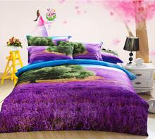 artistic design with 100% cotton 3D bedding set