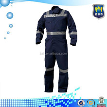 Industries and oil gas station waterproof coveralls with reflective taps