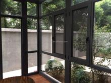 Fashion Home Design Aluminium Windows and Doors, aluminium casement window with Tempered Double Glass