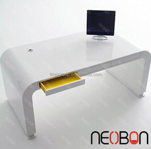 Fashion design Acrylic stone Office Supplies Executive Desk