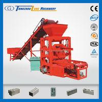 low investment QTJ4-26C manual hollow brick press machine price