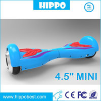 Hot sales lovely kids 4.5 inch mini smart electric scooter 180W*2 motors MAX speed 10KM