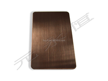 Top grade 304 stainless steel sheet hairline for construction decoration