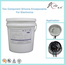 silica potting compound for electronic components