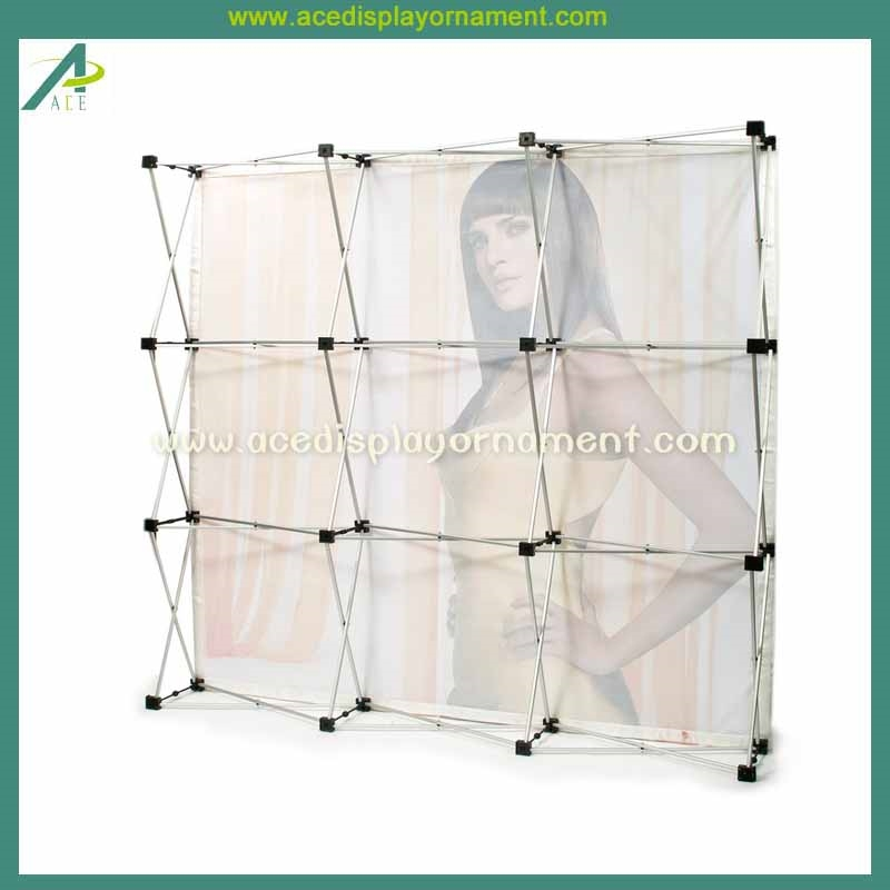 Fabric Pop Up Exhibition Stands : Fabric pop up banner display stand buy