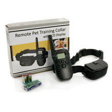 998D-1 Remote Dog Training Shock Collar LCD Display,Pet Training Product,bark collar