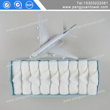Brand new cotton airplane towel with custom logo with high quality