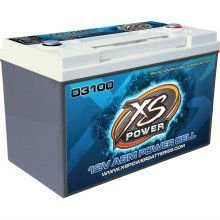 XS Power D3100 Car Batteries and Power Cells