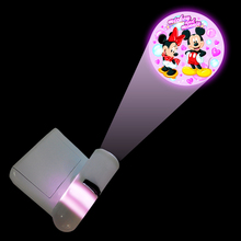 2015 romantic plastic led indoor projector flashlight with various shadow to promotion