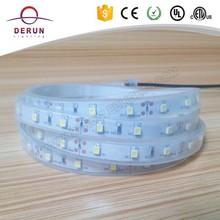Cuttable pcb 8mm width 12 volt warm white led strip 3528