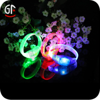 Hot Party Favors Glow In the Dark Led Light Reflective Bracelet