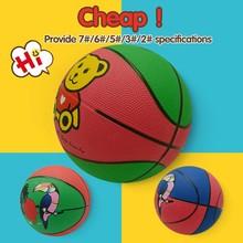 custom cheap sport new design oem rubber basketball ball