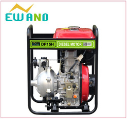 Newland(China) 2015 Hot sale high volume 1.5 inch high pressure pump large oil tank high lift diesel water pump