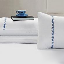 High quality 100% cotton Embriodery pillowcase