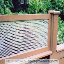 Perforated metal wire mesh fence/Portable metal fencing