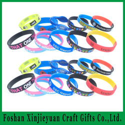 custom silicone rubber band,deboss,emboss,imprint,color-filling